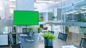 עיצוב חלל פנים ירוק